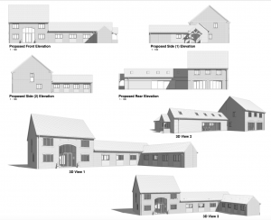 Architectural Design for a Barn Conversion in Lincolnshire